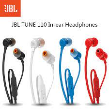 JBL T110 kablolu kulak içi kulaklık bas kulakiçi spor koşu kulaklık  mikrofonlu kulaklık Smartphone için kulaklık müzik derin|Phone Earphones &  Headphones