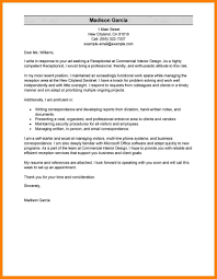 6 Employment Cover Letter Sample Offecial Letter