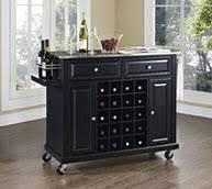 Wine Cart Kitchen Island