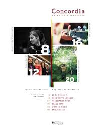 Magazine Content Page Layout Design