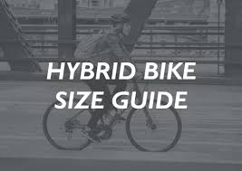 Bicycle Frame Size Chart Hybrid Sizing Guide Rutland Cycling