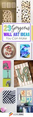 36 make your own wall art projects