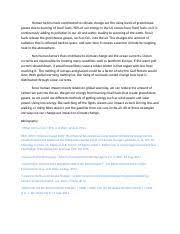 environmental science study resources 1 page climate change essay