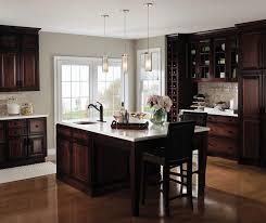 cherry kitchen cabinets. Kitchen Dark Cherry With Glass Cabinet Doors Decora Cabinets Decor 5 Curtain For Window Knobs Cheap U