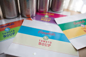 Diy Campbell Soup Warhol Toy Cans Free Printable Katie Day