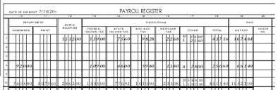 Payroll Register Example Crefrlh