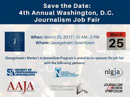 washington d c journalism job fair georgetown university journalism job fair 2017