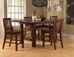 Hillsdale Outback 5Piece Counter Height Dining Set  Distressed Chestnut