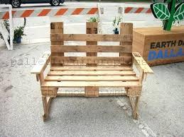 pallet benches diy pallet chair pallet furniture diy plans