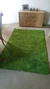 grass rug green cm long pile fake fake grass rug