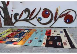 turkish kilim rug modern design 3 2 x 6 6