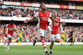 Arsenal 1 Norwich 0: Aubameyang scores ...