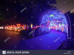 Meadow Event Park Lights Dubai Garden Glow Stock Photos Dubai Garden Glow Stock