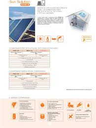 Termici solari. documentazione prodotta da cordivari elaborata da