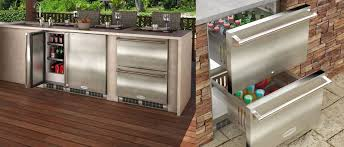 mo24rds3ns marvel outdoor refrigerator drawer