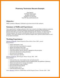 Pharmacy Technician Resume Template Saneme