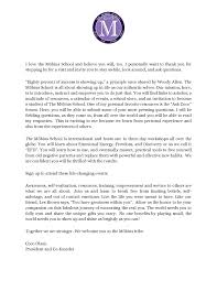 Letter From The Founder The Mobius School