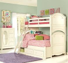 ... Full size of Twin Over Loft Bed With Desk White Bunk Beds For Girls  Storage Decorate ...