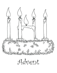 Printable Advent Wreath Coloring Pages Advent Wreath Coloring Pages