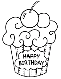 Small Picture 10 Happy Birthday Coloring Pages For Toddlers Kids Little Boy