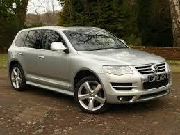 Silver VW Touareg Altitude 3.0 V6 Tdi - Hi Spec - Stunning ...