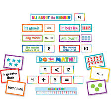 Count By 9 Chart Numbers Counting Pocket Chart Cards