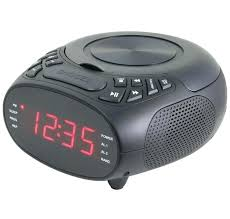clock radio with cd player clock radio with player black sylvania alarm clock radio with cd