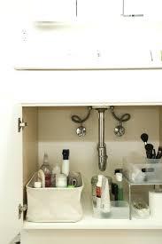 bathroom under sink storage ideas. Bathroom Sink Storage Cabinet Organize The Space Under Life Creatively Ideas