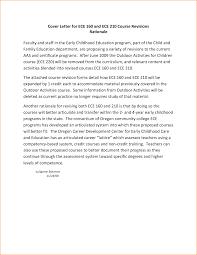 Early Childhood Education Cover Letter Sample Basic Job Cover Letter