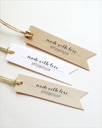 Tags For Gifts Templates 24 Gift Tag Templates Free Sample Example Format Download