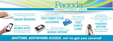 This article lists all of their affiliations as well as the easier credit cards that you can apply for which is very useful for those with a poorer credit score. Pagoda Federal Credit Union Posts Facebook