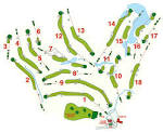 Glenwood Country Club Course Layout