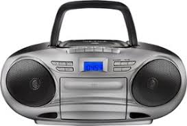 boomboxes best buy insignia cd cassette boombox am fm radio black gray