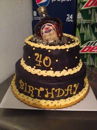 Awesome 40th Birthday Cake By Lana Food Pinterest Cake 40th