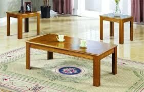 3 piece coffee table sets 3 piece parquet top occasional table 3 piece coffee table set