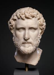 marble portrait of the emperor antoninus pius work of art marble portrait of the emperor antoninus pius