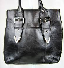this is a handbag or leather tote from wilson leather