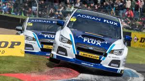 adrian flux continues sponsorship with bmr racing btcc team