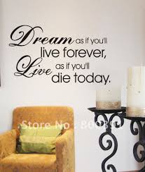 Small Picture Show off your living style with Wall Sticker Quotes In Decors