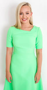 Audrey Dress in Apple Green – AislingMaherBoutique