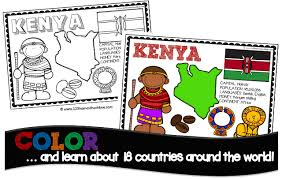 How to teach colors to kids? Free Country Coloring Pages