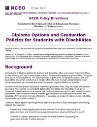 diploma options and graduation policies for students  thumbnail