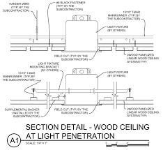 lighting integration in wood ceilings