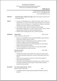 Financial Advisor Job Description Resume Business Consultant Resume Example Examples Of Resumes 42