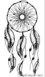 Dream Catcher Tattoo Stencil Again dream catcher tattoo stencil 2