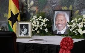 Image result for Kofi Annan buried in Ghana.
