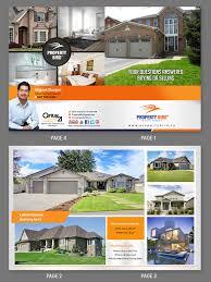 Real Estate Design Upmarket Modern Real Estate Agent Flyer Design For Real