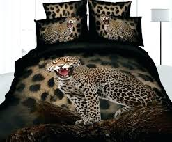 cheetah print sheets king leopard animal bedding set queen size duvet cover bedspread bed in a animal print
