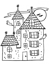 I know the excitement is building as fellow disney parks blog. Free Printable Haunted House Coloring Pages For Kids