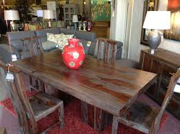 Small Distressed Dining Table Weathered Wood Dining Table The Defining Of Country And Rustic